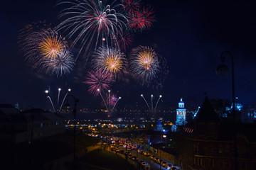 Firework in Kazan, Russia