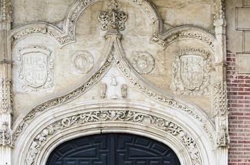 Monastery of San Antonio Real in Segovia (Spain)