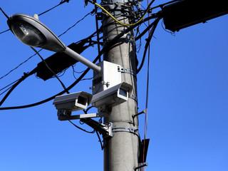 防犯カメラ‐安全対策