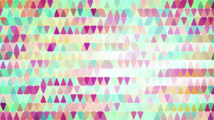 colorful triangles loopable geometric background 4k