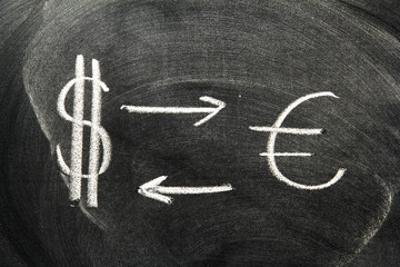 Dollar and Euro Symbol
