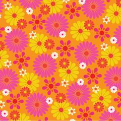 Mod Floral Pattern