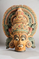 Indian wooden statue