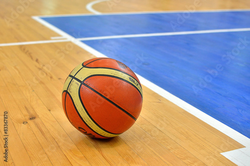 obraz lub plakat Boisko do koszykówki