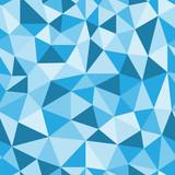 Fototapety Seamless/Repeating Geometric Pattern (blue)