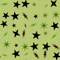 Stars generated seamless texture