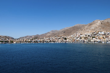 Kalymnos island, Greece. The capital of sponge diving.