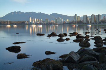 Vancouver Dawn, English Bay
