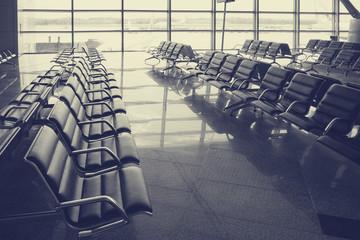 Зал ожидания в аэропроту