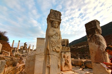 The ancient town Ephesus, Turkey