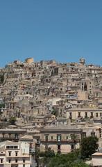 Panorama Di Modica dal belvedere