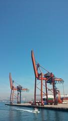 Istanbul Haydarpasa Port, Turkey