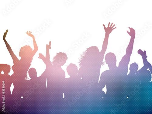 Zdjęcia na płótnie, fototapety, obrazy : Party crowd background