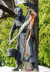 Ida Schumacher - actress, Munich, Bayern, Germany. Sculpture