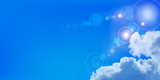 Fototapety 空 雲 背景