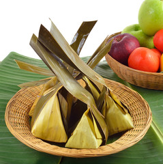 Thai dessert,kanom saisai