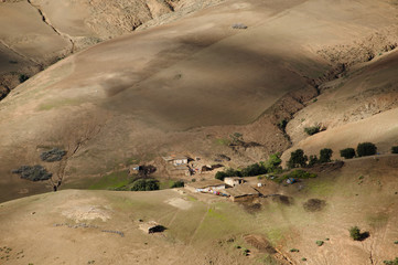 Berber Houses - Atlas Mountains