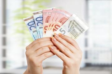 Geld ausgeben