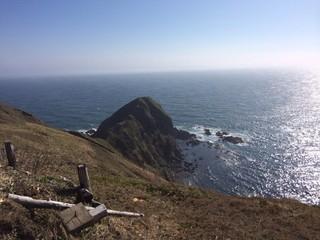 えりも岬から見える海