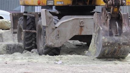 shovel excavator