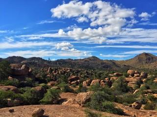 Boulders in Superior, Arizona