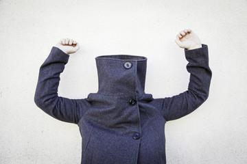 Mysterious coat