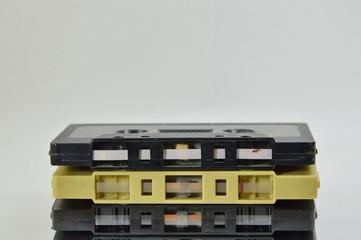 old cassette tape recorder