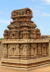 Vittala temple in Hampi, Karnataka province, South India.