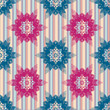 Vector Seamless abstract geometric pattern,