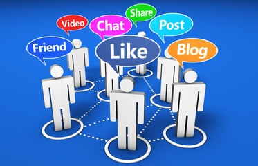 Social Network Online Media Community