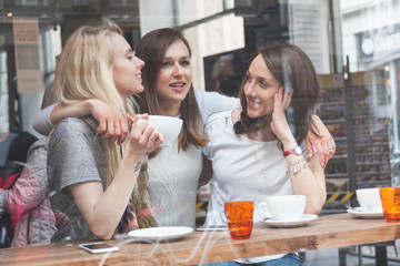 Women enjoying a coffee in Copenhagen