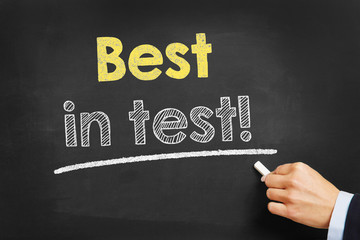 Best in test!