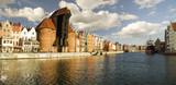 Fototapety Cityscape of Gdansk in Poland