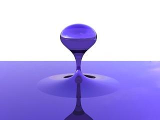 glass drop