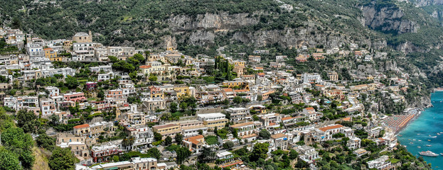 Costiera Amalfitana, panoramica di Positano