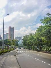 Avenue of Medellin Colombia