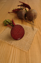 Beetroot (Beet), Sliced and Whole Ready for Preparation