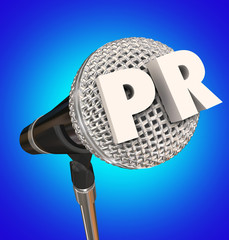PR Public Relations Microphone Mic Stand Mike Interview Share Me