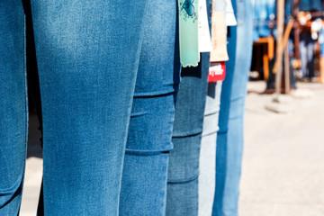 Jeans on market