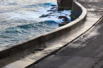 Havana's embankment