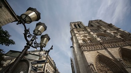 church Notre Dame in Paris, France