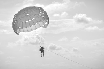 speed boat parachute