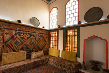 Interiors of the harem in Khan's Palace, Bakhchisaray