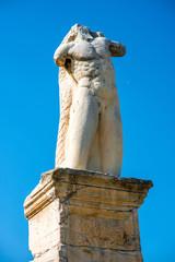 Greek statue in Agora