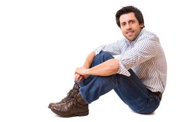 Man posing