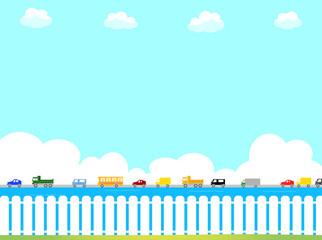 風景 交通渋滞