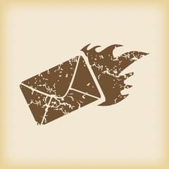 Grungy accumulator icon