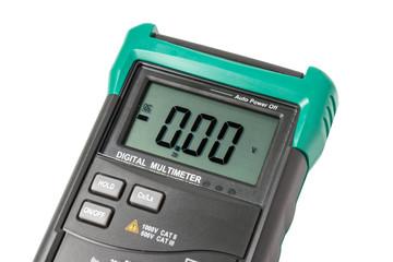 Isolated digital multimeter screen