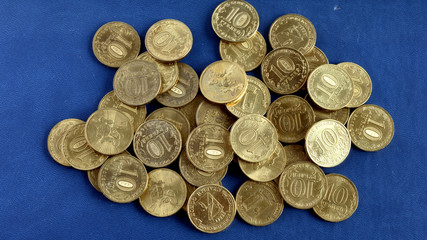 10 rouble  coins