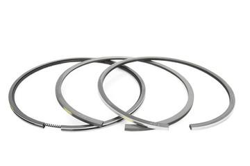 piston ring set isolated on white background
